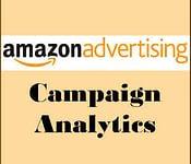 Amazon advertising analytics