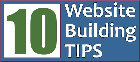 Website building tips