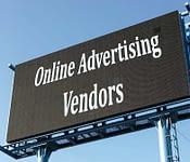 Online advertising vendors