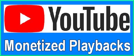YouTube monetized playbacks