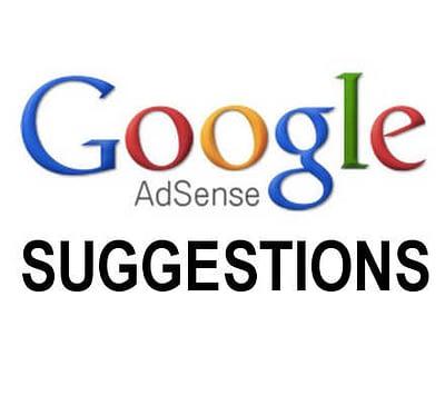 AdSense suggestions