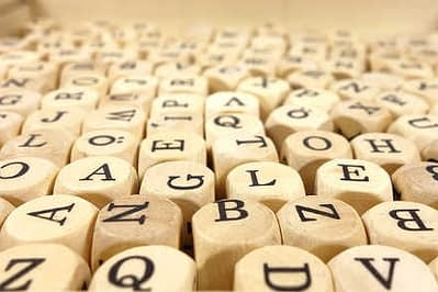 Words and letters