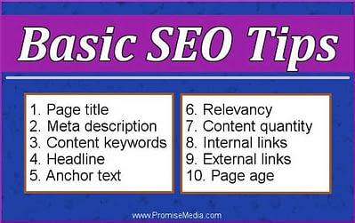 Basic SEO tips